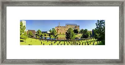 Oklahoma City National Memorial Framed Print by Ricky Barnard