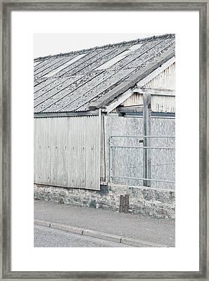 Old Barn Framed Print by Tom Gowanlock