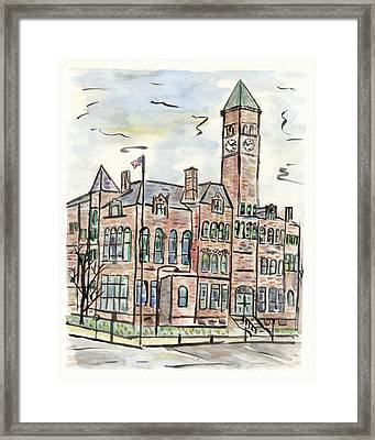 Old Courthouse Museum Framed Print by Matt Gaudian
