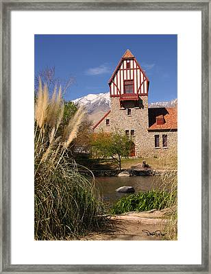 Old Mt. Whitney Fish Hatchery Framed Print by David Salter