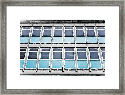 Old Office Building Framed Print by Tom Gowanlock