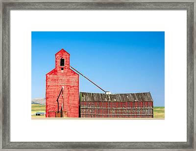 Old Red Framed Print by Todd Klassy