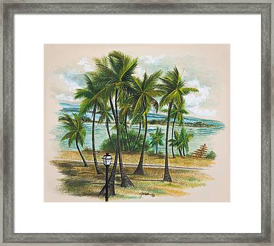 Old San Juan - Morro Framed Print by George Bloise