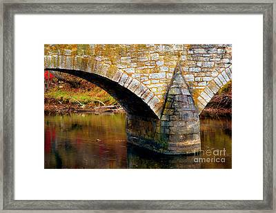 Old Stone Bridge Framed Print by Paul W Faust - Impressions of Light