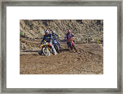 Omc Vintage 2015 -15 Framed Print by Brian McCullough