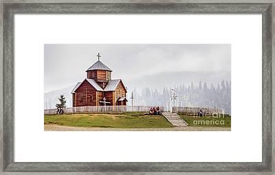 On A Hill Framed Print by Svetlana Sewell