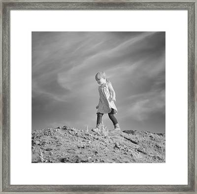 On Top Of The World Framed Print by Maria Jansson
