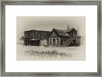 Once Upon A Time Framed Print by Sandra Bronstein
