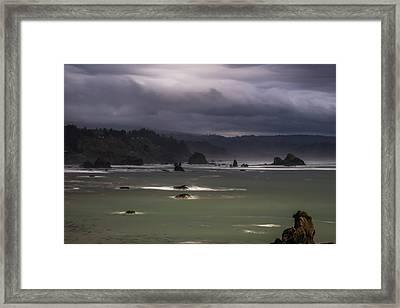 Overlook Framed Print by Marnie Patchett
