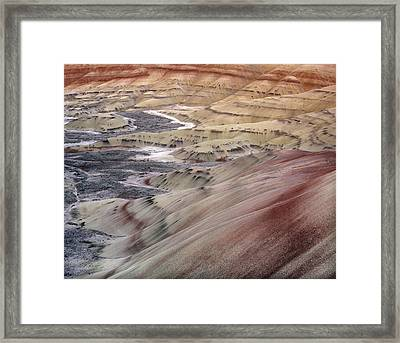 Painted Hills Framed Print by Leland D Howard