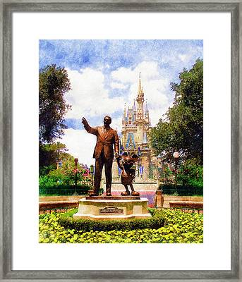 Partners Framed Print by Sandy MacGowan
