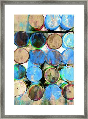 Pastel Tones Abstract Framed Print by Tom Gowanlock
