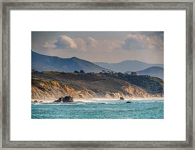Framed Print featuring the photograph Pays Basque by Thierry Bouriat