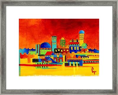 Peace Framed Print by Dawnstarstudios