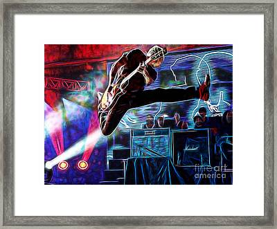 Pearl Jam Collection Framed Print by Marvin Blaine