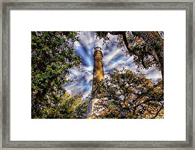Pensacola Lighthouse Framed Print by Anthony Dezenzio