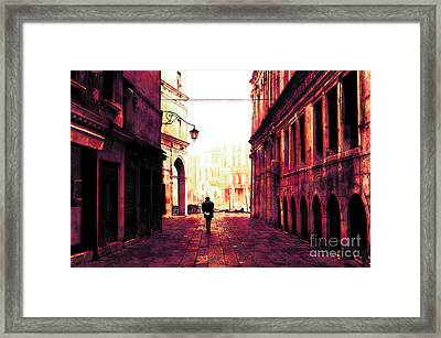 Perdition Framed Print by John Rizzuto