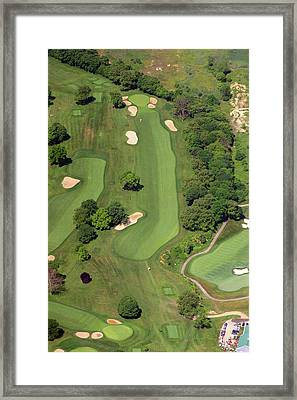 Philadelphia Cricket Club Wissahickon Golf Course 12th Hole Framed Print by Duncan Pearson