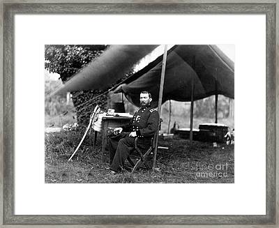 Philip Sheridan, American Army Officer Framed Print by Science Source