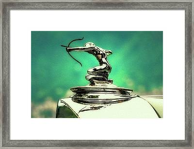 Pierce Arrow Mascot Framed Print by Duschan Tomic