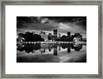 Pittsburgh  Reflections  Framed Print by Emmanuel Panagiotakis