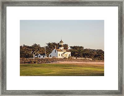 Point Pinos Framed Print by Scott Pellegrin