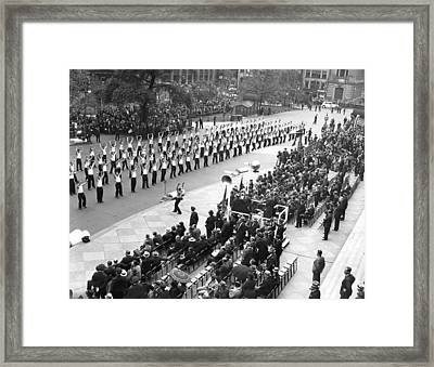 Police College Graduates Framed Print by Underwood Archives