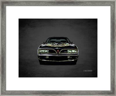 Pontiac Firebird Trans Am Framed Print by Mark Rogan