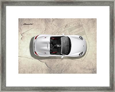 Porsche Boxster Framed Print by Mark Rogan