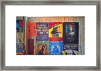 Poster Board Framed Print by Cyryn Fyrcyd