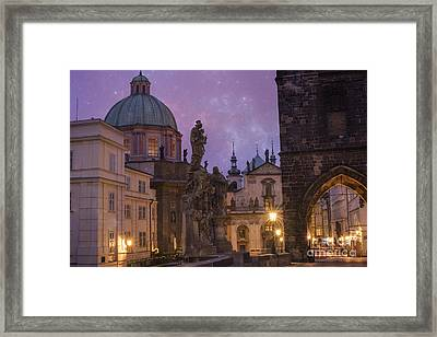 Prague, Czech Republic Framed Print by Juli Scalzi