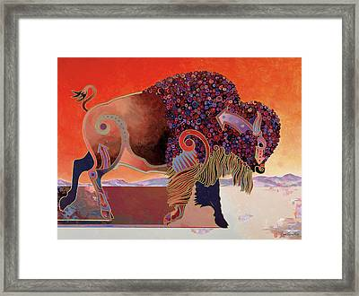 Prairie Prince Framed Print by Bob Coonts