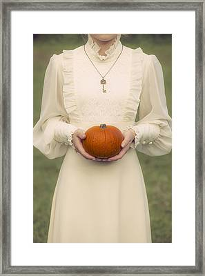 Pumpkin Framed Print by Joana Kruse