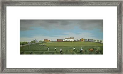 Ralph Wheelock's Farm Framed Print by Francis Alexander