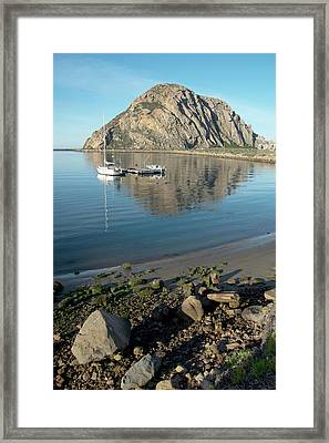 Reflection Anchorage  Framed Print by Barbara Snyder