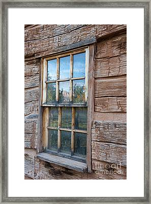 Reflections Of Time Framed Print by Sandra Bronstein