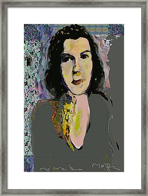 Regina Framed Print by Noredin Morgan