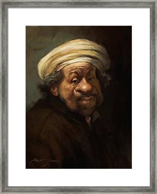 Rembrandt Framed Print by Court Jones