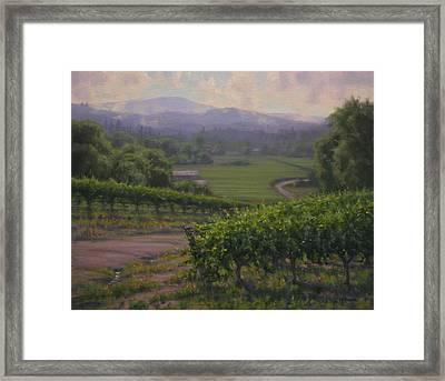 Remembering Sonoma Framed Print by Joe Mancuso