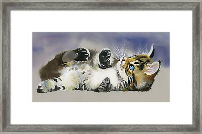 Resting In The Lord Framed Print by Karen Showell