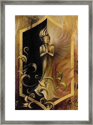 Revelation And Enlightenment Framed Print by Dina Dargo