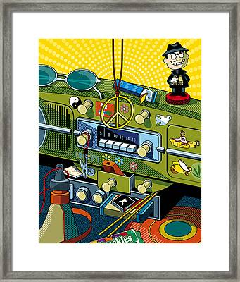Road Trip '69 Framed Print by Ron Magnes