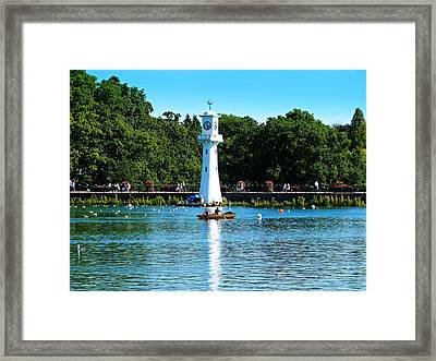Roath Park Framed Print by Andrew Read