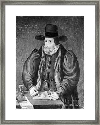 Robert Fludd, Physician, Astrologer Framed Print by Wellcome Images