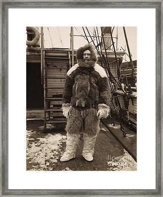 Robert Peary (1856-1920) Framed Print by Granger