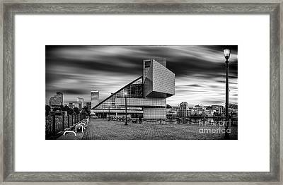Rock And Roll Hall Of Fame  Framed Print by James Dean