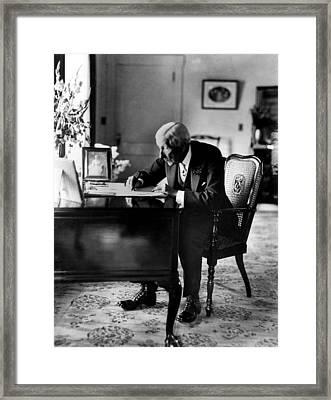 Rockefeller, John D. Sr Framed Print by Everett
