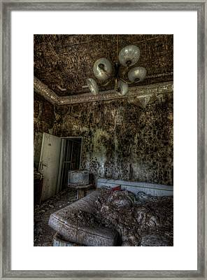 Rotten Sleep Framed Print by Nathan Wright
