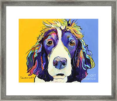 Sadie Framed Print by Pat Saunders-White