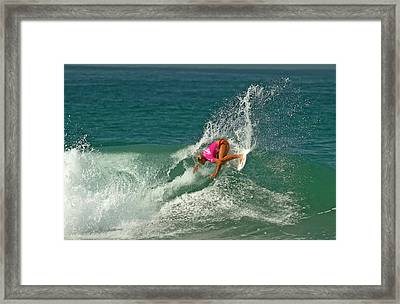 Sage Erickson Usa Framed Print by Waterdancer